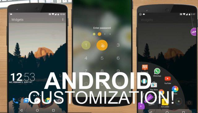 customizarea