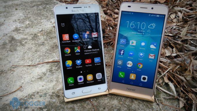 Huawei Honor 7 Lite vs Samsung Galaxy J5 2016
