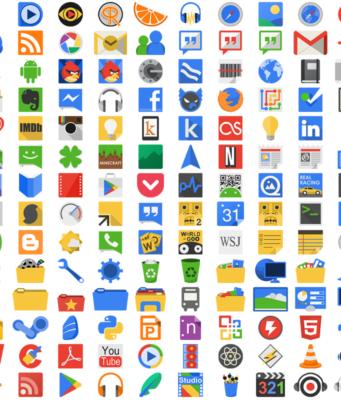 iconițe de la aplicații
