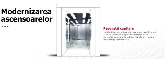vrei să modernizezi liftul