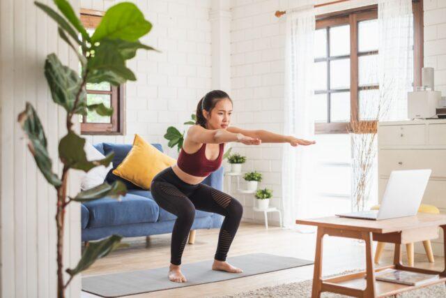 fitness de acasă